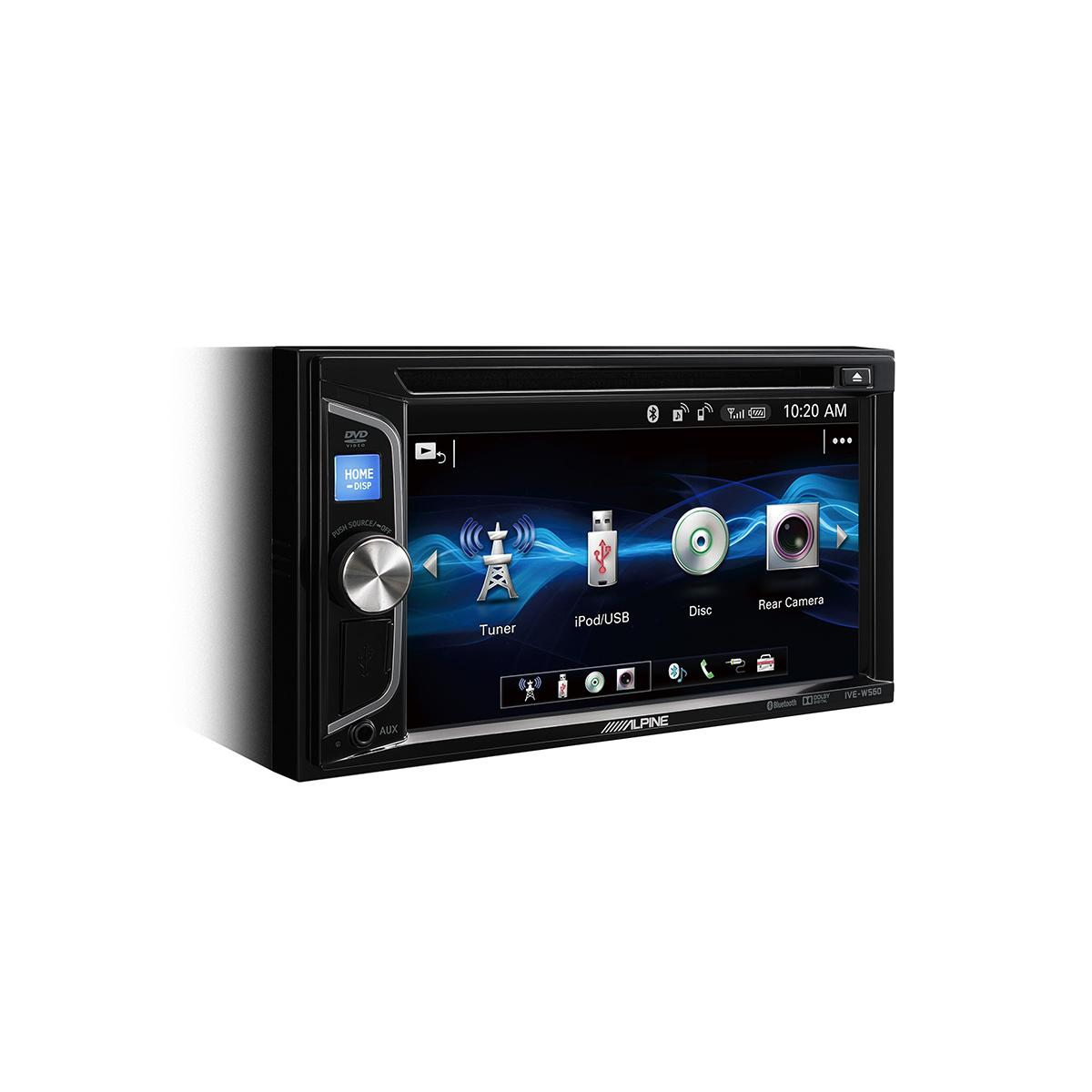 Double Din Screen Alpine Car Audio Systems IVE-W560BT 3