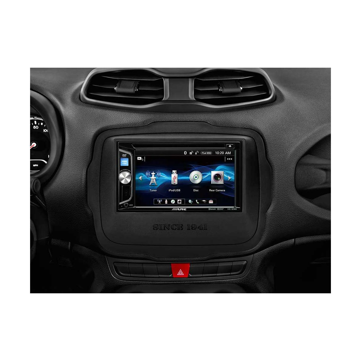 Double Din Screen Alpine Car Audio Systems IVE-W560BT 4