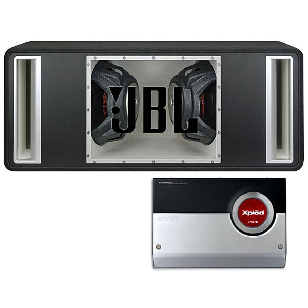 JBL GTO1204BPD Double band pass enclosure with Amplifier