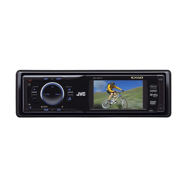 Car Stereo Systems With Bluetooth JVC KD-AVX11 CD/DVD Receiver with monitor - KD-AVX11 from JVC