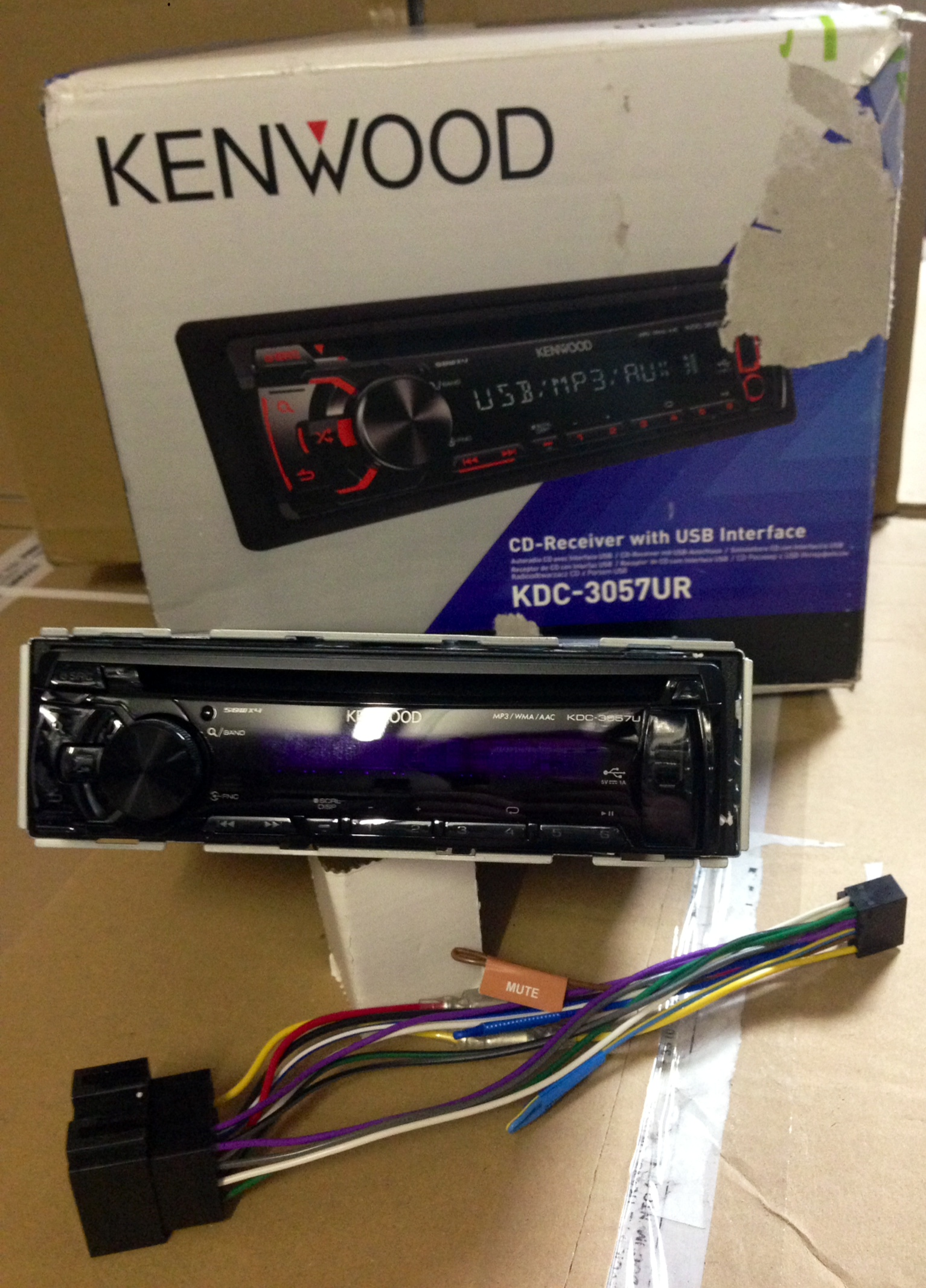 CD/MP3 Player Kenwood KDC-3051R