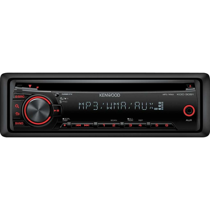 CD/MP3 Player Kenwood KDC-3051R 2