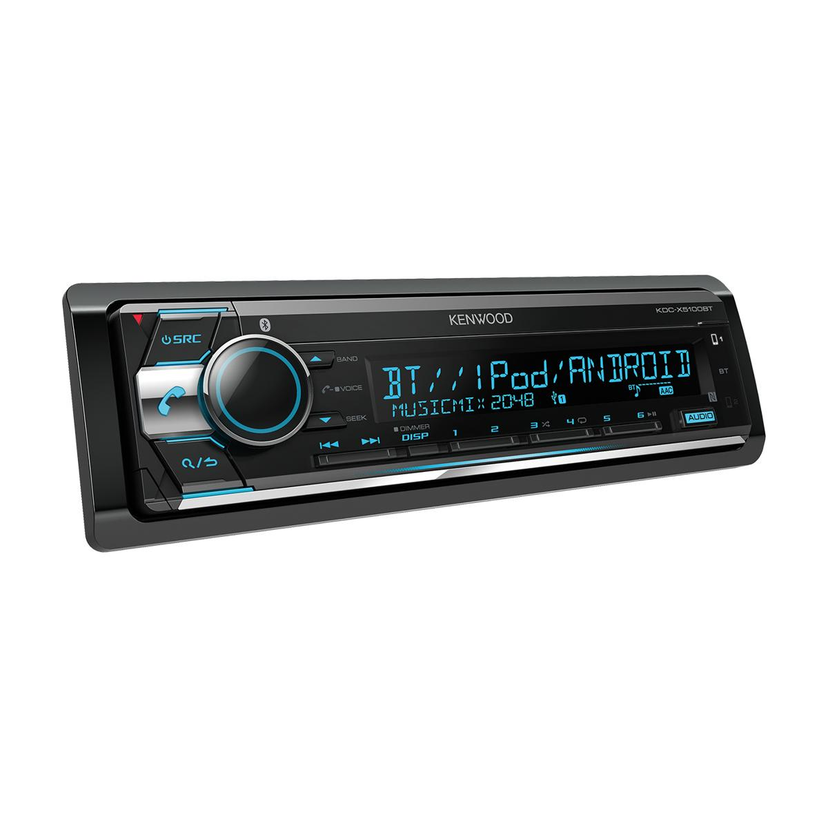 Made for iPod/iPhone Kenwood KDC-X5100BT