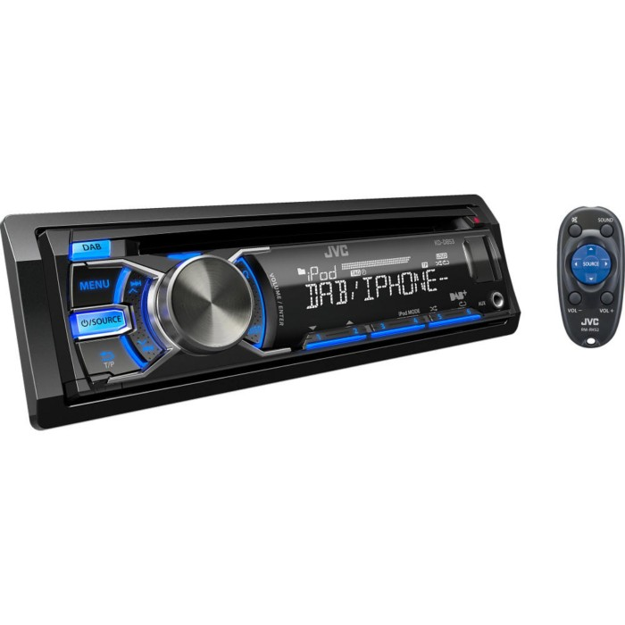 DAB Car Radio JVC KD-DB53AT 1