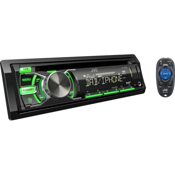 DAB Car Radio JVC KD-DB53AT 2