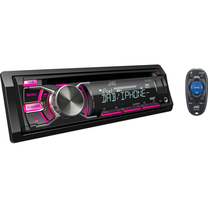 DAB Car Radio JVC KD-DB53AT 3