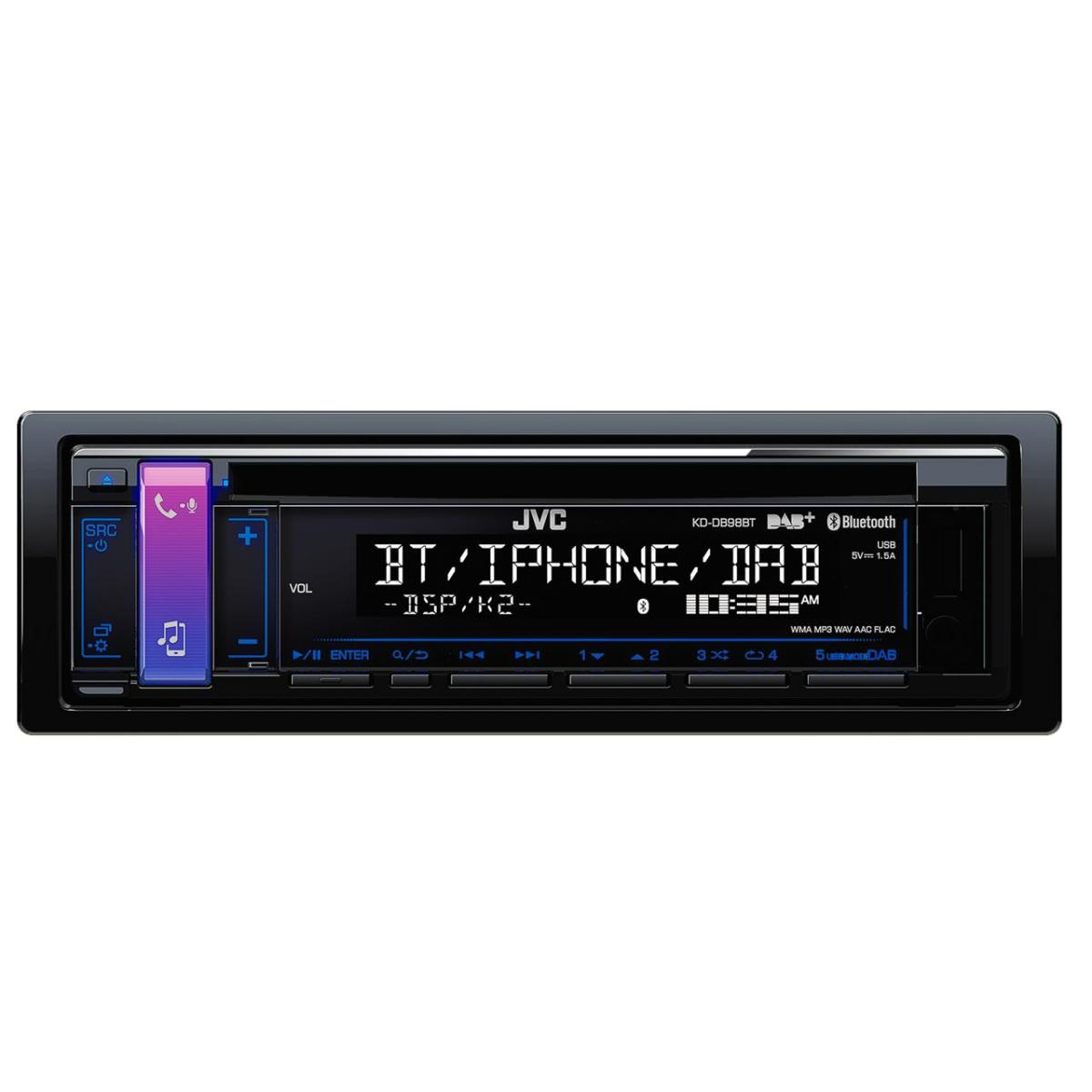 Bluetooth Compatible JVC KD-DB98BT 1