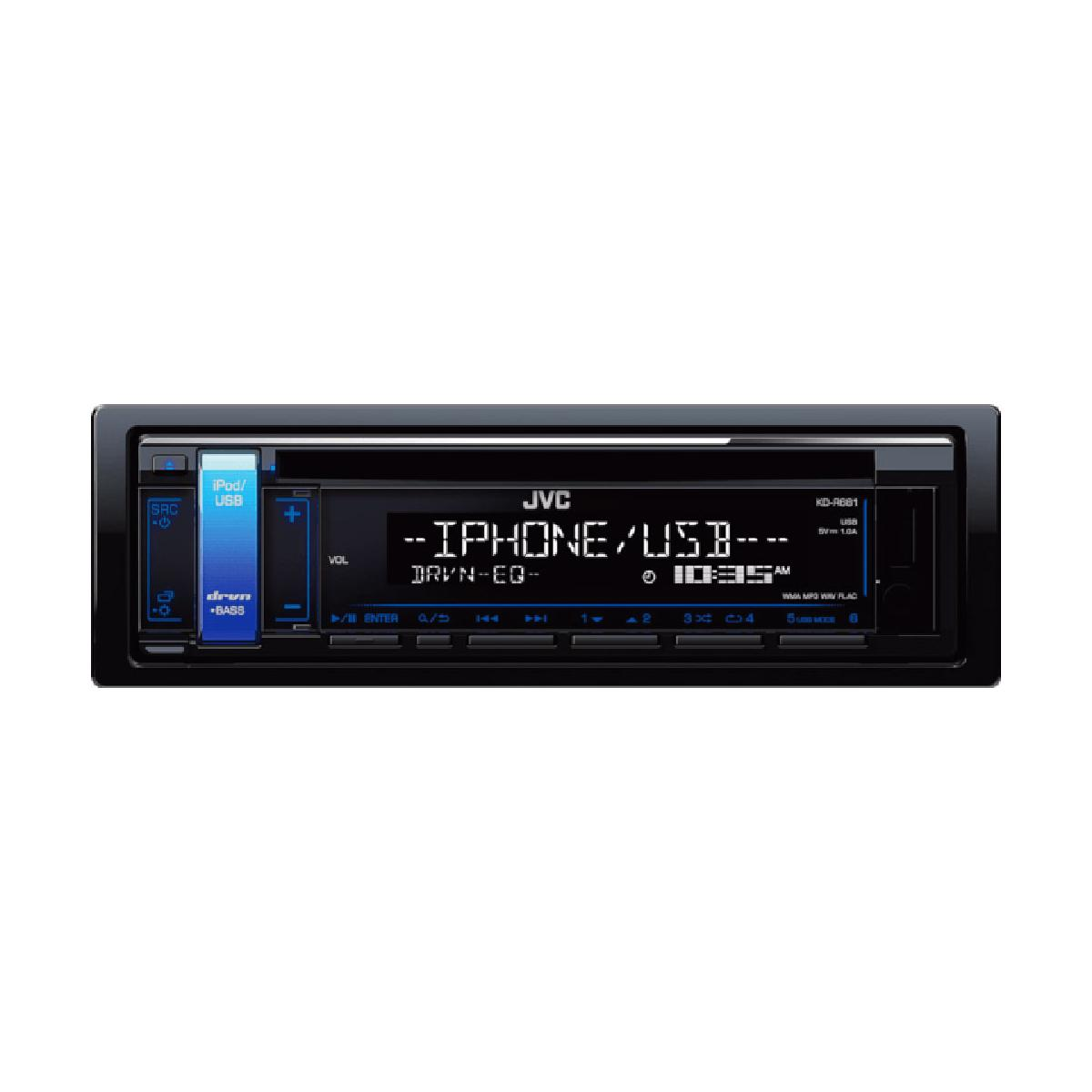 CD/MP3 Player JVC KD-R681