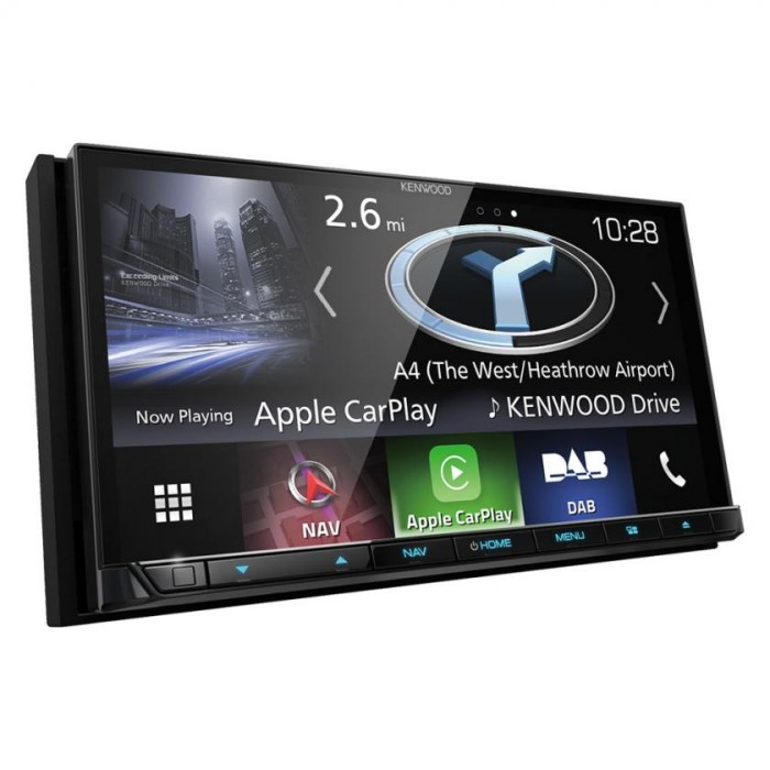 In Car Sat Nav Kenwood Car Audio DNX8170DABS 1