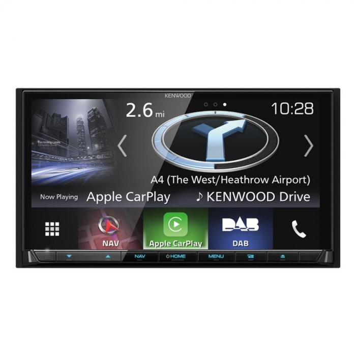 In Car Sat Nav Kenwood Car Audio DNX8170DABS 2