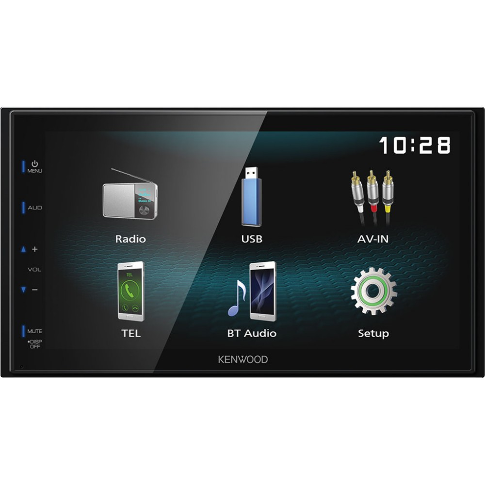 Double Din Screen Kenwood Car Audio DMX-120BT