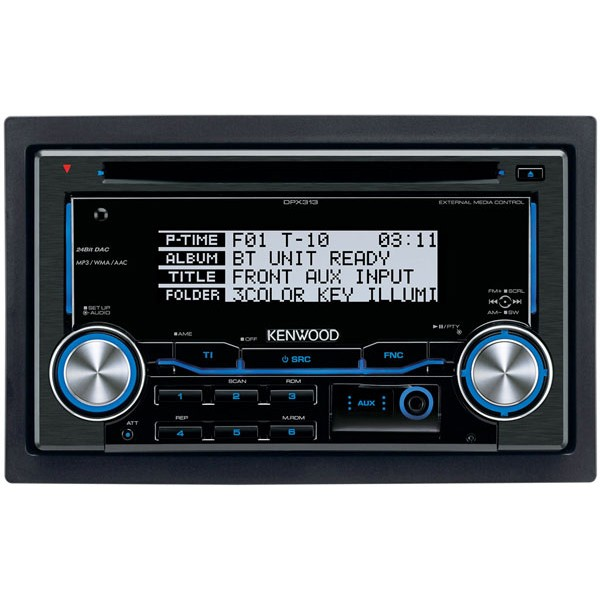 Kenwood DPX-313Y Double Din CD / MP3 / WMA Car Stereo