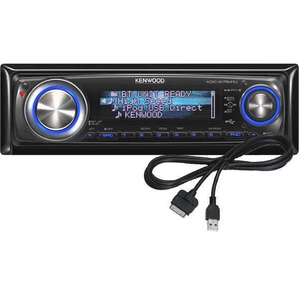 Kenwood KDC-W7041U + KCA-IP100