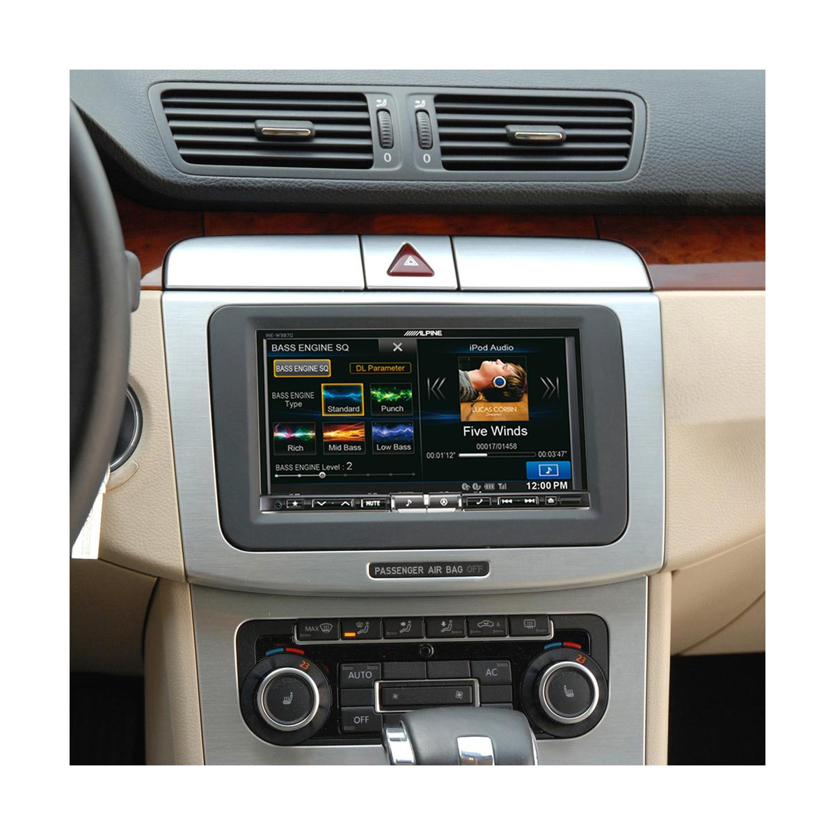 Car Specific Upgrades Alpine Car Audio Systems KIT-7VWPQ 1