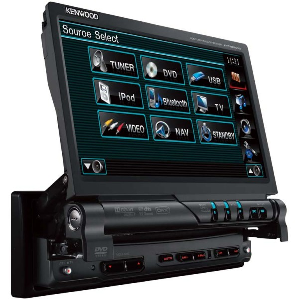 Kenwood KVT-526DVD CD/DVD/MP3 7 inch touch screen ...