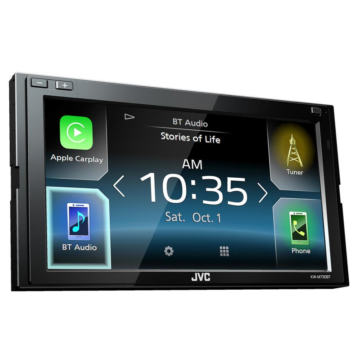 Apple Car Play JVC KW-M730BT 2