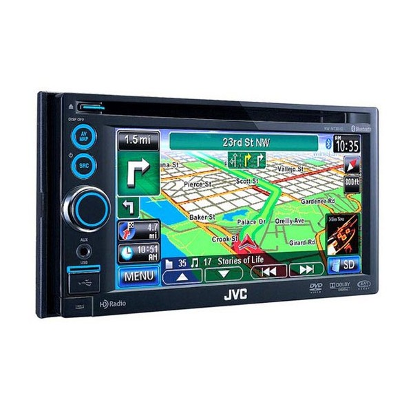 In Car Sat Nav JVC KW-NT30