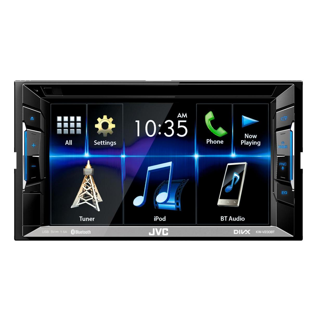 Double Din Screen JVC KW-V230BT