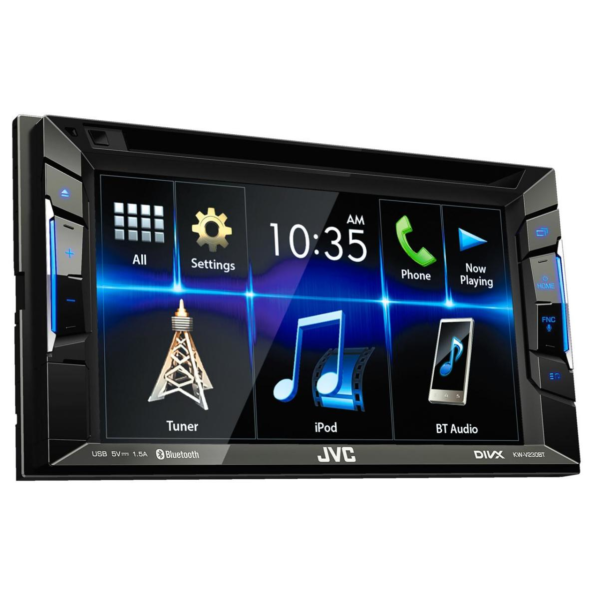 Double Din Screen JVC KW-V230BT 1
