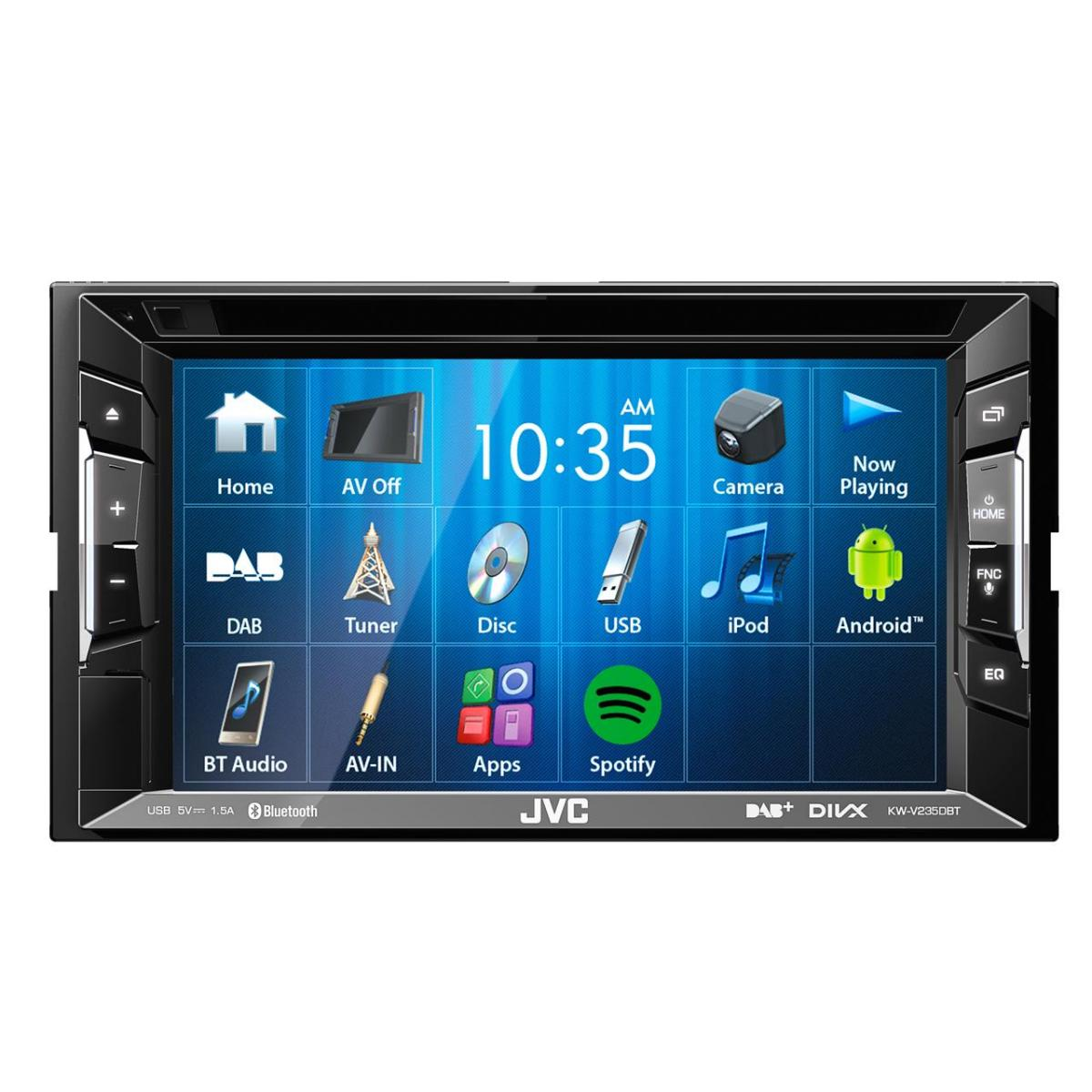 Double din screen JVC KW-V235DBT