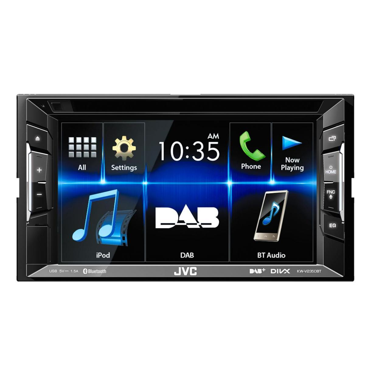 Double din screen JVC KW-V235DBT 2