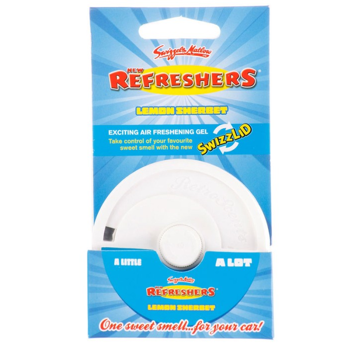 Car Care Retroscents Refreshers Gel Pot lemon