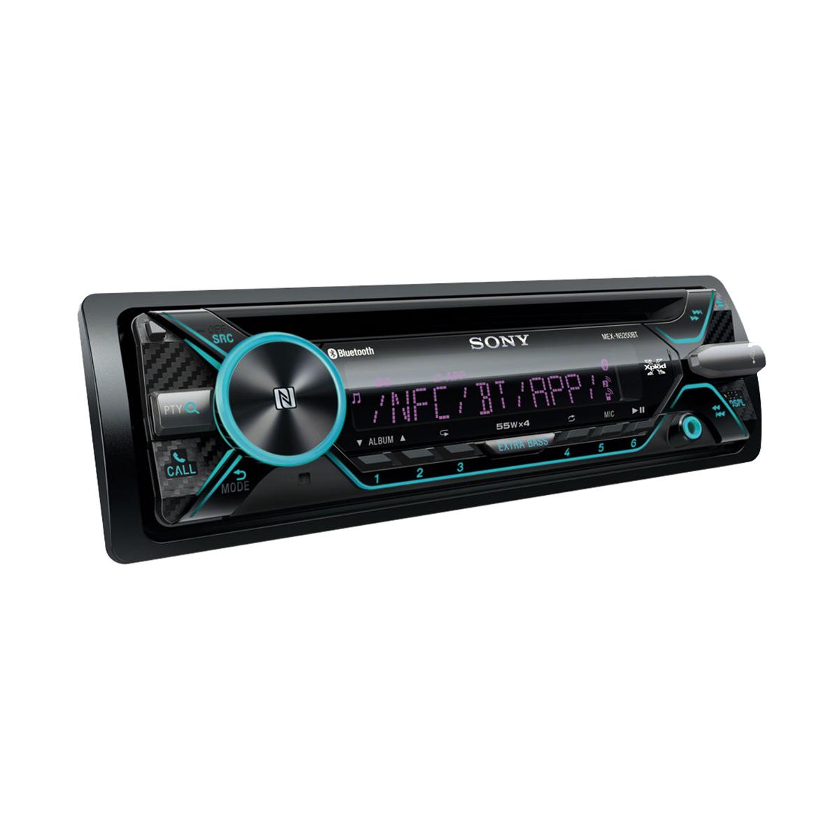 sony mex n5200bt bluetooth car stereo system with front. Black Bedroom Furniture Sets. Home Design Ideas