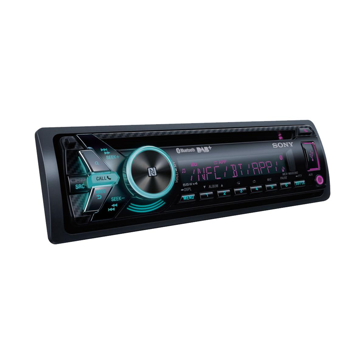 iPhone Compatible Sony Car Audio MEX-N6002BD