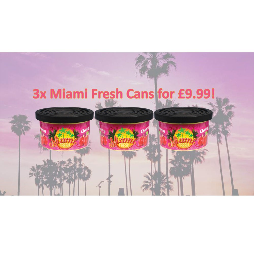 Car Care Miami Fresh MFC3