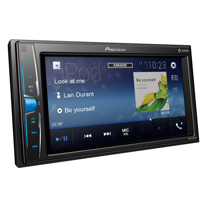 Double din screen Pioneer MVHA210BT 1