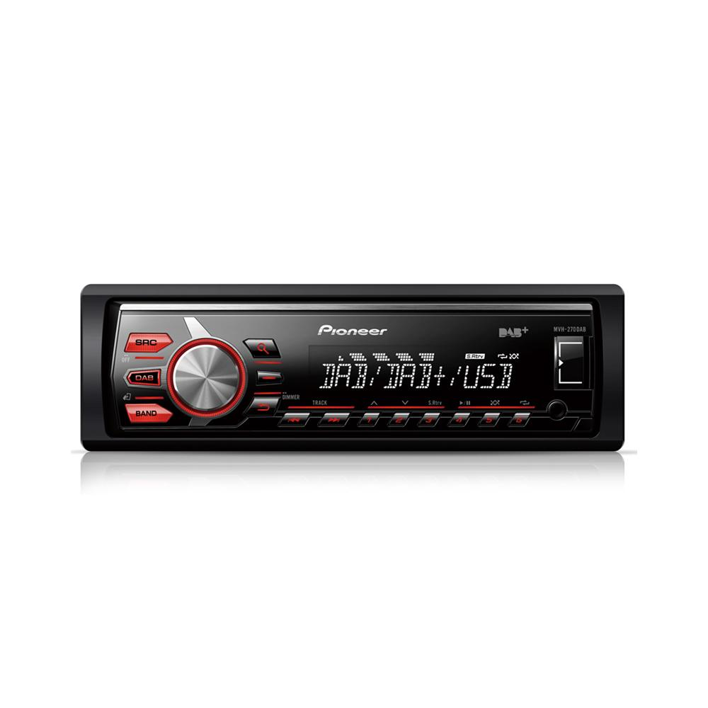 Aux in Pioneer MVH-270DAB