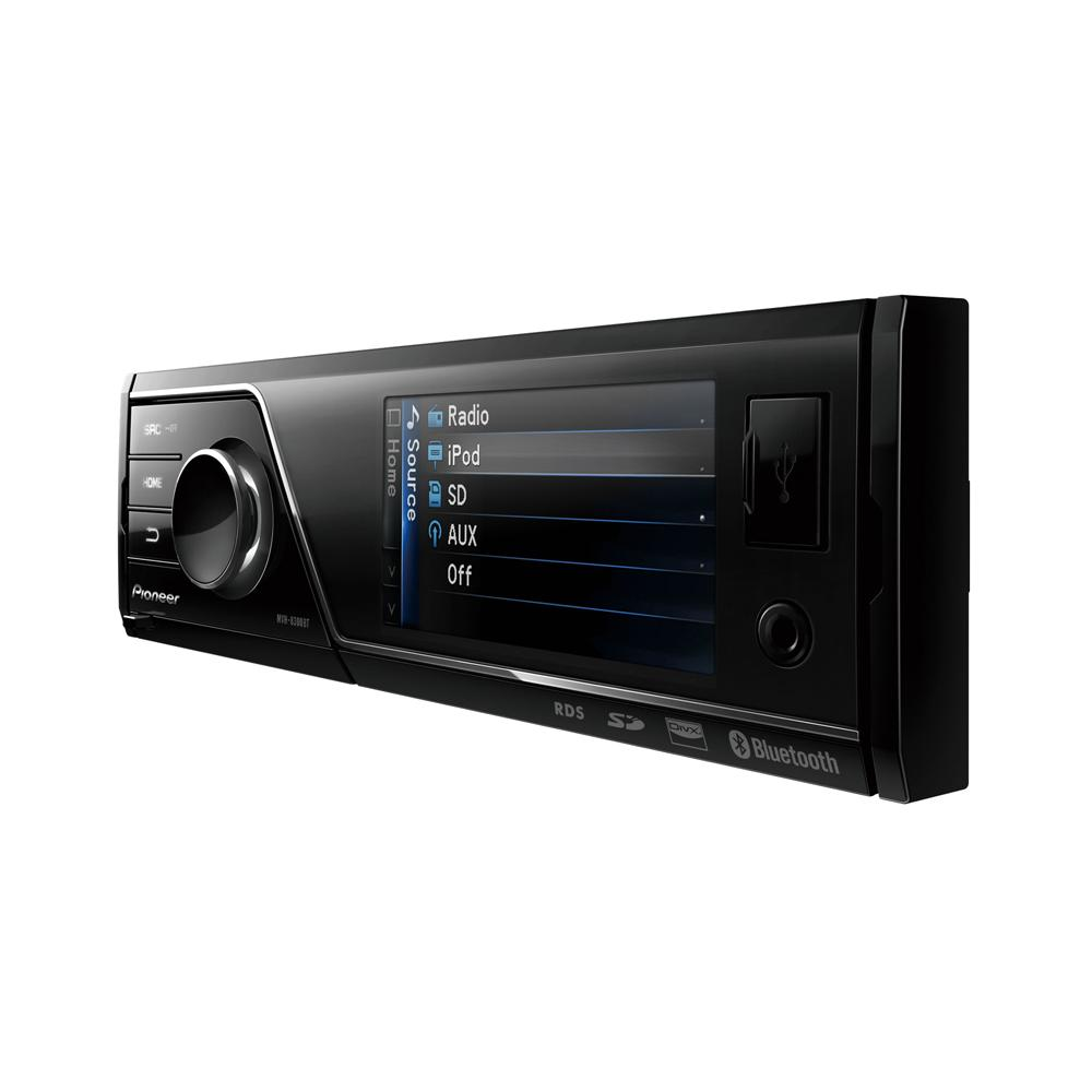 mvh 8300bt stereo with bluetooth sd card and 3 full. Black Bedroom Furniture Sets. Home Design Ideas
