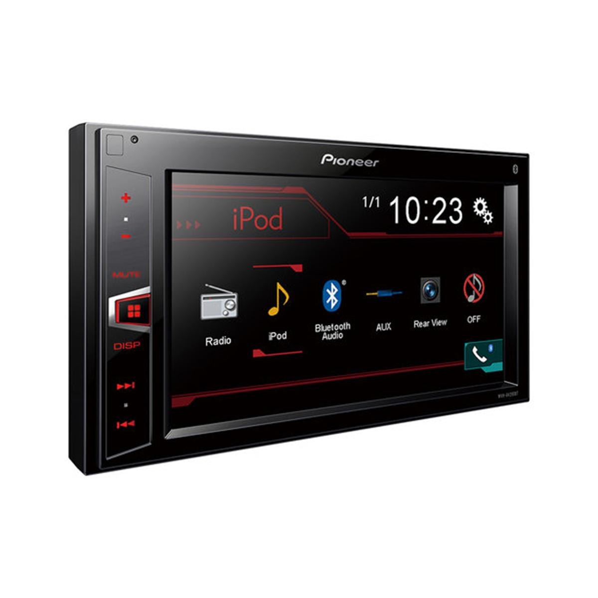 mvh av290bt mechless double din with bluetooth and usb. Black Bedroom Furniture Sets. Home Design Ideas