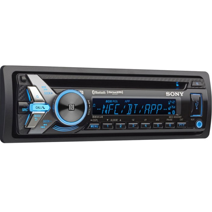 Product m Sony Mex N5000bt p 32117 on panasonic cd car stereo