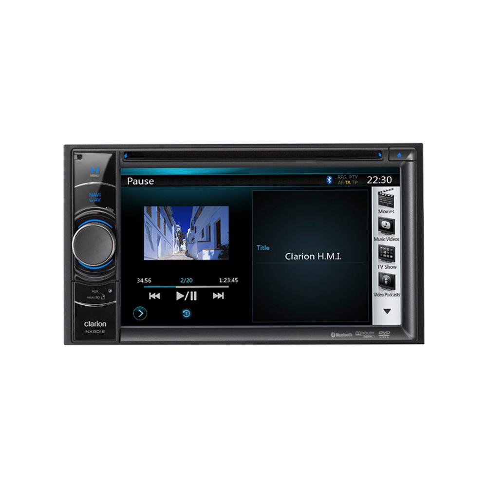 clarion nx501e double din sat nav all car audio centre images clarion nx501e