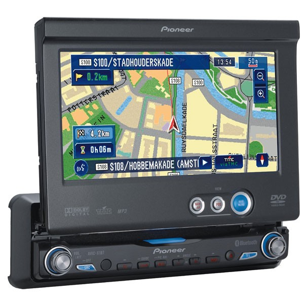pioneer avic x1 in dash gps and entertainment system with pioneer radio navigation update at Pioneer Radio With Navigation