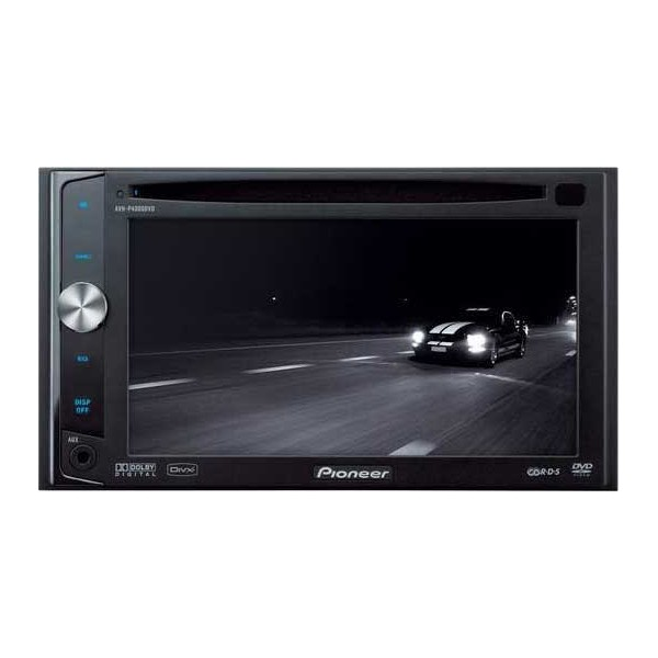 Pioneer AVH-P4000DVD Double Din DVD / DivX Player