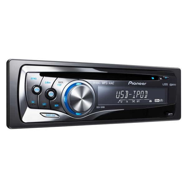 Pioneer deh 50ub cd tuner with ipod direct control usb aux in pioneer deh 50ub publicscrutiny Gallery