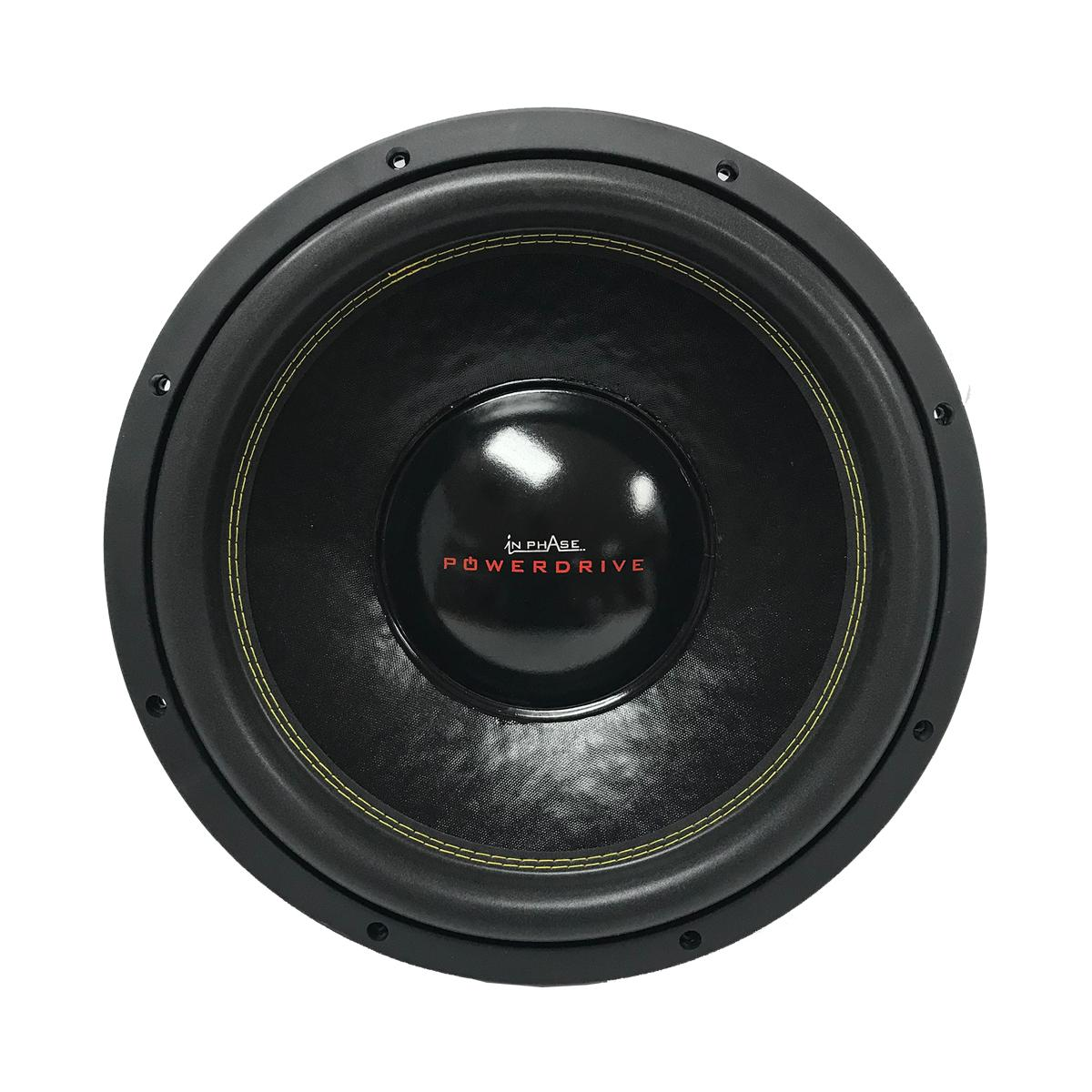 Sub Woofers In Phase Car Audio Powerdrive 15