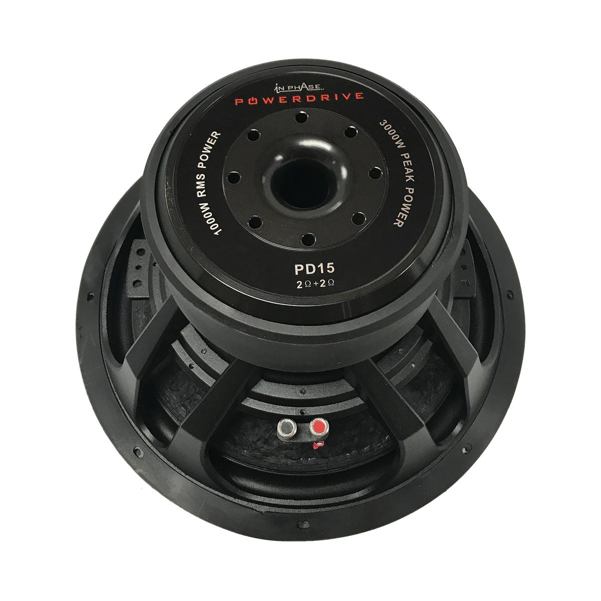 Sub Woofers In Phase Powerdrive 15 2