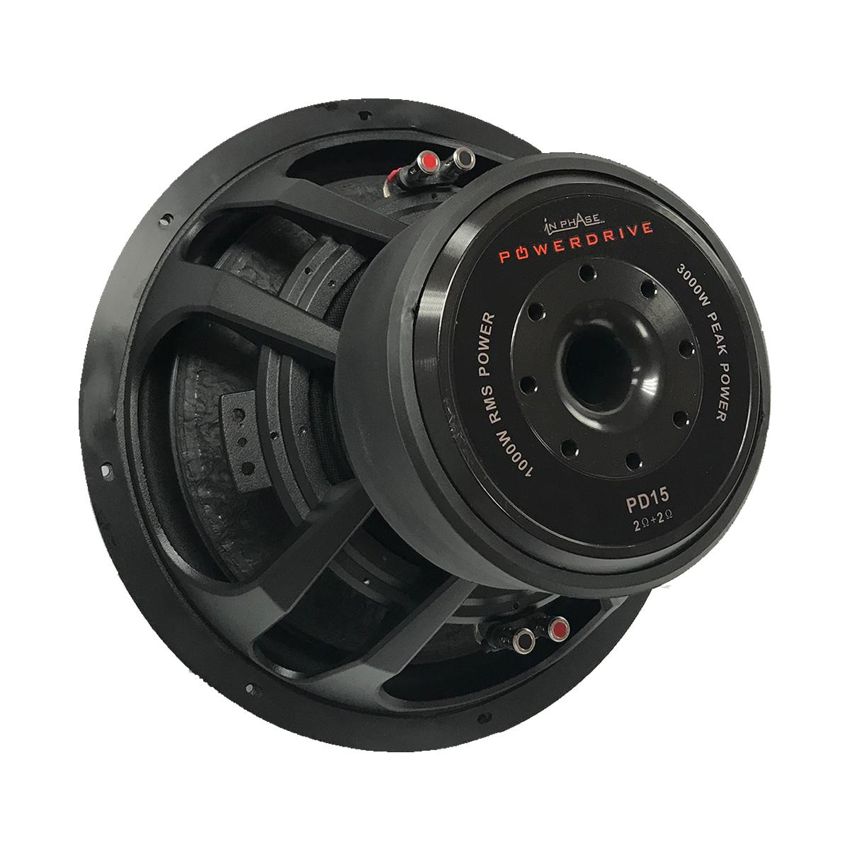 Sub Woofers In Phase Car Audio Powerdrive 15 4