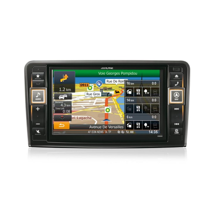 In Car Sat Nav Alpine Car Audio Systems X800D-ML 3