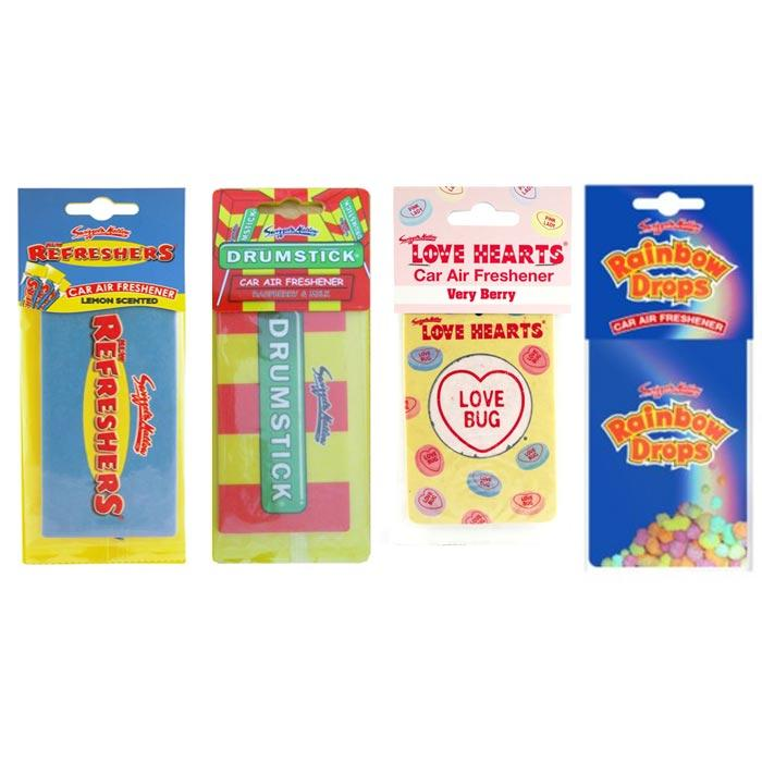 Accessories Retroscent Car Air Fresheners Retro Scents 4 pack