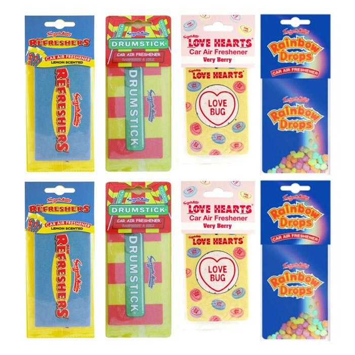 Accessories Retroscent Car Air Fresheners Retro Scents 8 pack