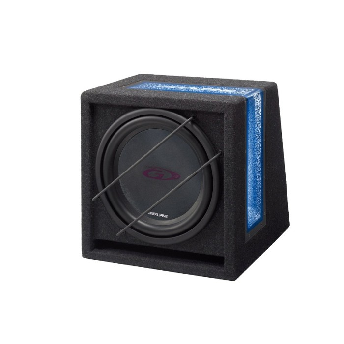 Enclosed Subwoofers Alpine Car Audio Systems SBG-1244BR