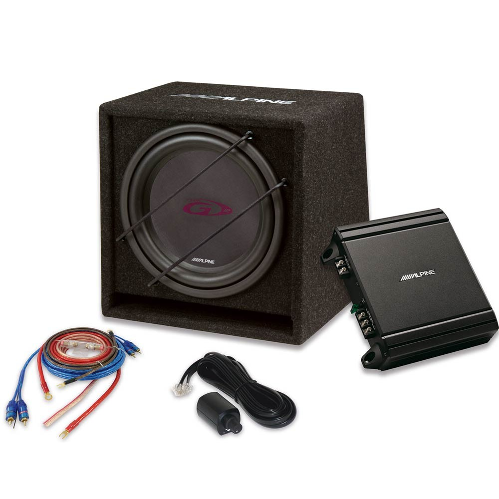 Sub and Amp Packages Alpine Car Audio Systems SBG-30KIT