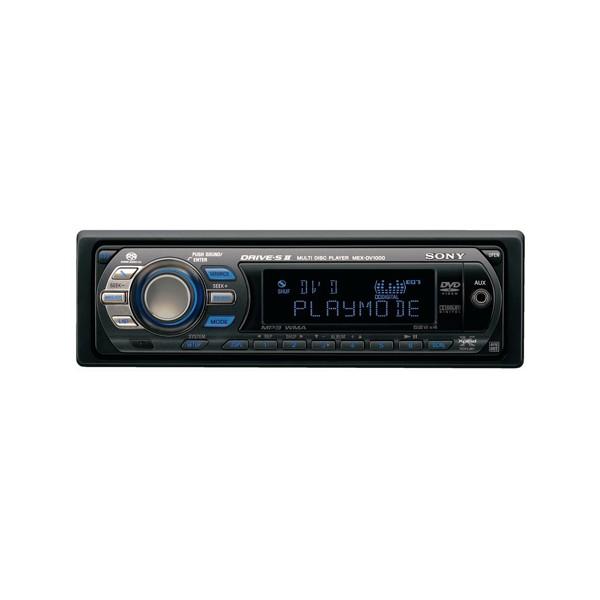 sony mex dv super audio cd mp wma dvd player mex sony mex dv1000
