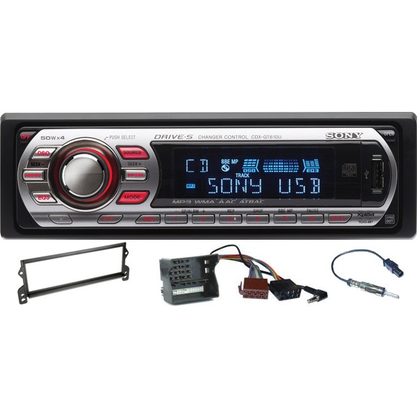 Sony CDX-GT610U BMW Mini Car Stereo Upgrade Kit. Get CDX