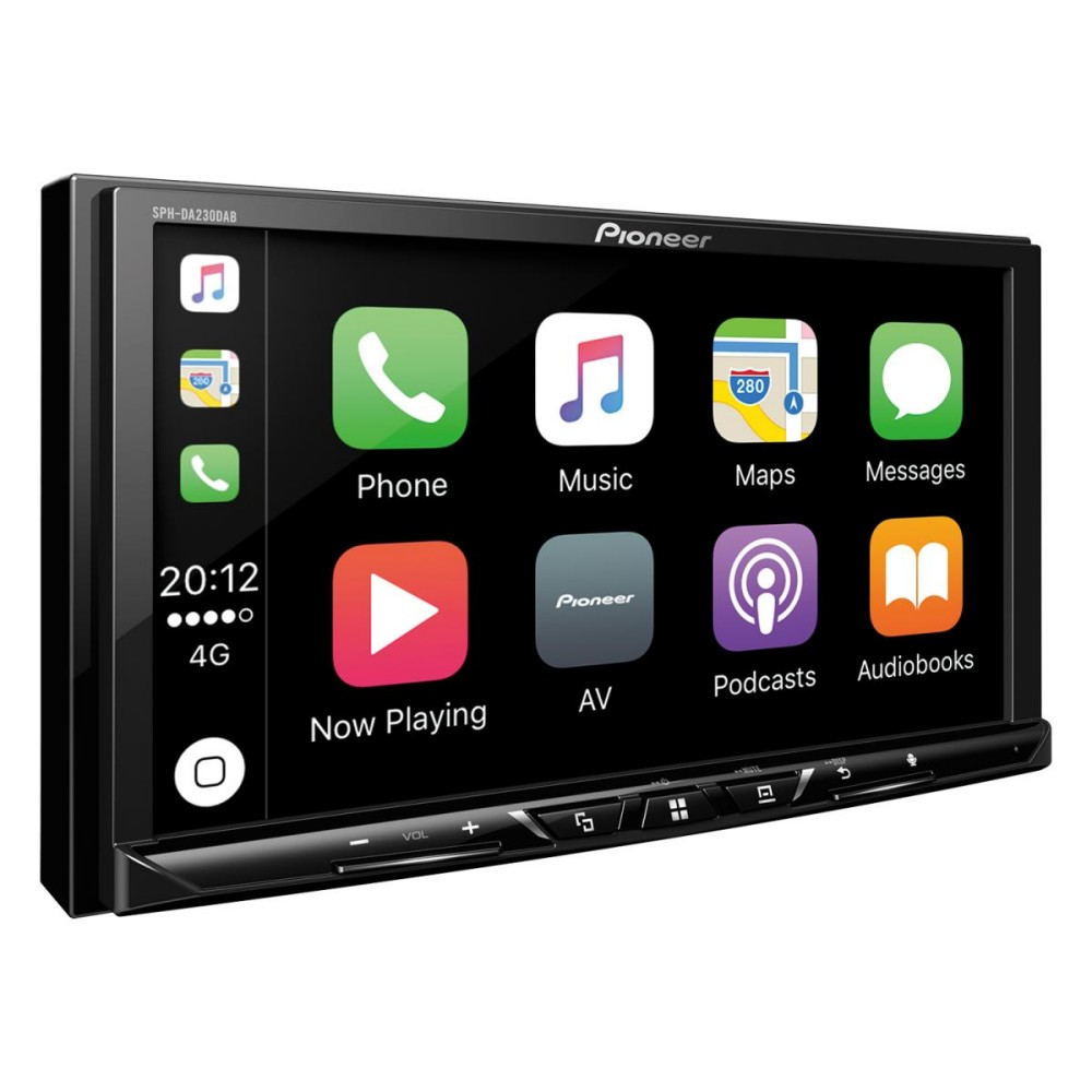 pioneer sph da230dab mech less double din stereo system apple car p. Black Bedroom Furniture Sets. Home Design Ideas
