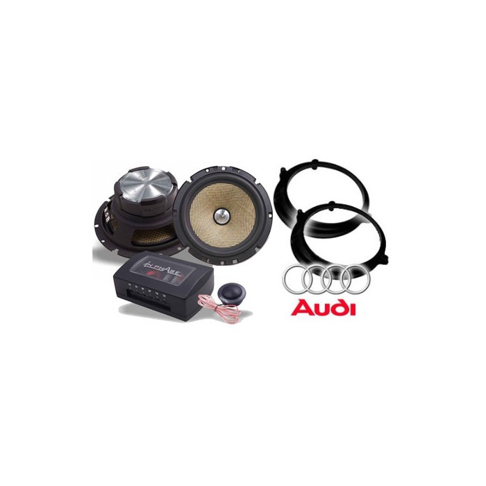 A3 In Phase Car Audio SXT6.1c Audi A3 Speaker Upgrade System